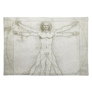 Vitruvian Man by Leonardo da Vinci Placemat