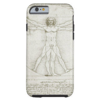 Vitruvian Man by Leonardo da Vinci Tough iPhone 6 Case