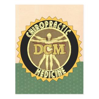 Vitruvian Man DCM Postcard
