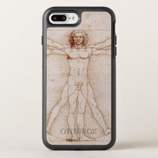 Vitruvian Man in detail by Leonardo da Vinci OtterBox Symmetry iPhone 7 Plus Case