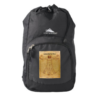 Vitruvian Man-Leonardo Da Vinci Backpack