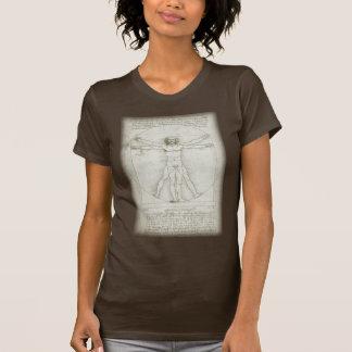 Vitruvian Man Leonardo da Vinci Renaissance Art Shirt