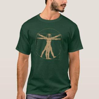 vitruvian man - leonardo da vinci T-Shirt