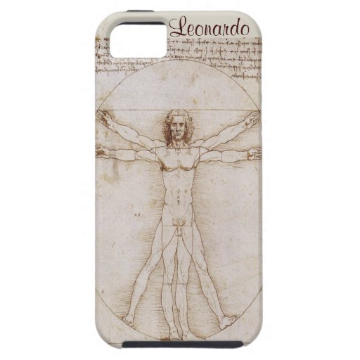 vitruvian man leonardo iphone 5 vibe case cover iPhone 5 cover