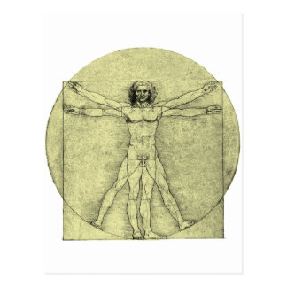 Vitruvian Man Postcards
