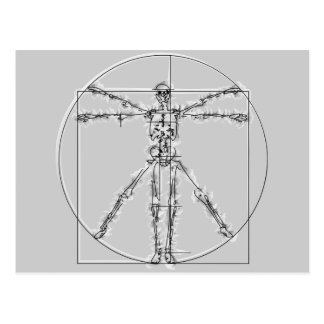 Vitruvian_Man Post Card