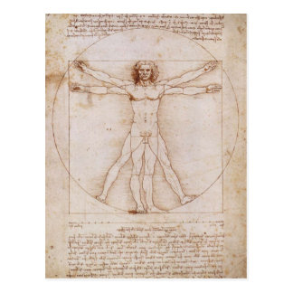 Vitruvian Man Post Cards
