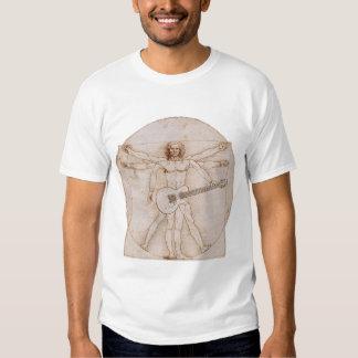 Vitruvian Man Rocks 2 Shirt
