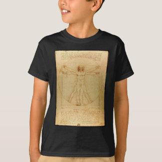 Vitruvian man. T-Shirt