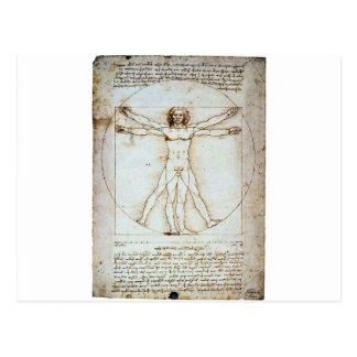 Vitruvian Postcard