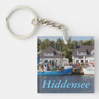 Vitte Harbour on Hiddensee in Mecklenburg Vorpomme Key Ring