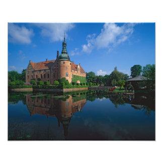 Vittskovle Castle, Skane, Sweden Photo Art