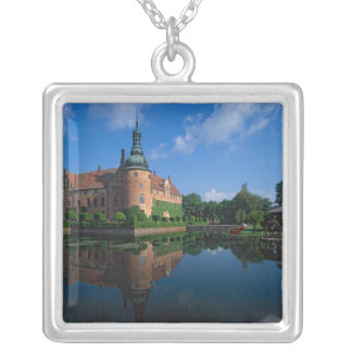 Vittskovle Castle, Skane, Sweden Silver Plated Necklace