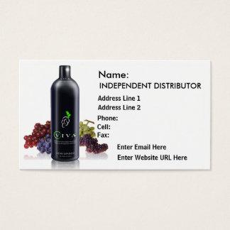 Viva Black Grapes - Business Card