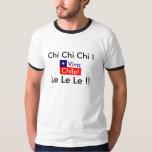 Viva Chile! Chi Chi Chi! Le Le Le! Chile Flag Tshirts