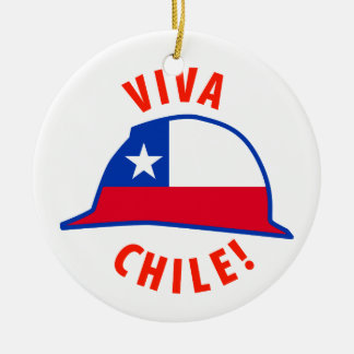 Viva Chile! Christmas Ornament