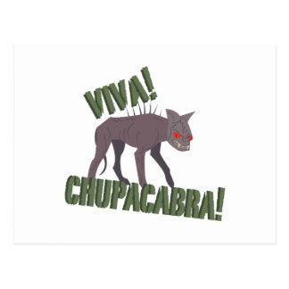 Viva! Chupacabra! Postcard