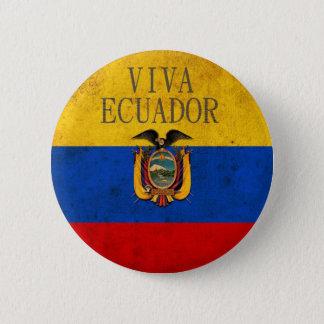 Viva Ecuador 6 Cm Round Badge