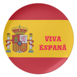 Viva Espanã plates