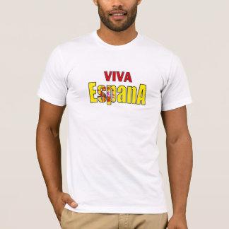 Viva Espana Spain flag football champions tshirt