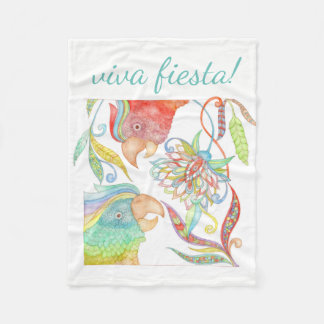 Viva Fiesta! fleece blanket