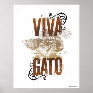 Viva Gato 2 Print