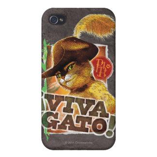 Viva Gato! iPhone 4/4S Covers