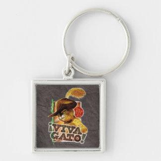 Viva Gato! Key Ring