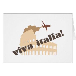 Viva Italia Greeting Card