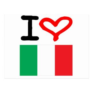 Viva Italia! Postcard