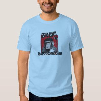 Viva la Evolucion Ape T-shirt