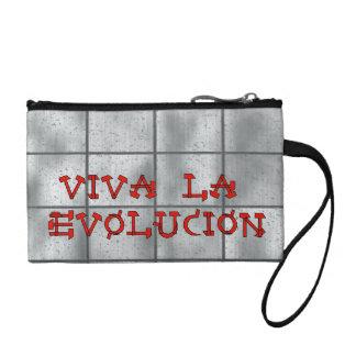 Viva La Evolucion Change Purses