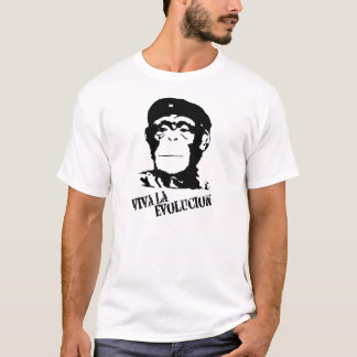 Viva La Evolucion - Chimp T-Shirt