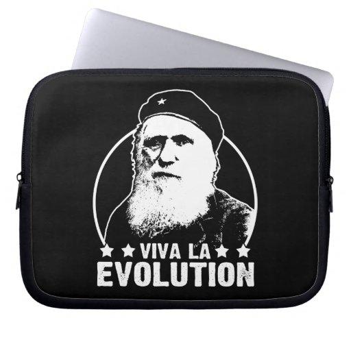 Viva La Evolution Laptop Computer Sleeve