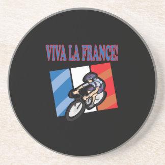 Viva La France Beverage Coaster