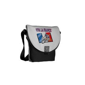 Viva La France Courier Bags