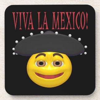 Viva La Mexico Beverage Coasters