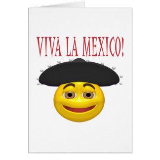 Viva La Mexico Greeting Card