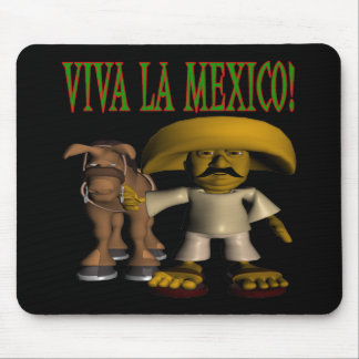 Viva La Mexico Mouse Pad