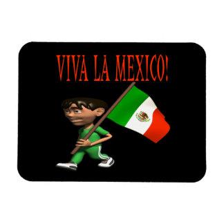 Viva La Mexico Rectangular Photo Magnet