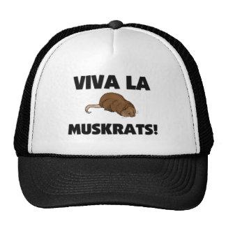 Viva La Muskrats Trucker Hat