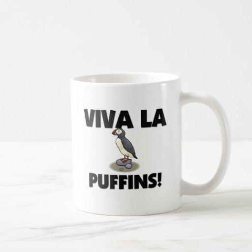 Viva La Puffins Coffee Mug