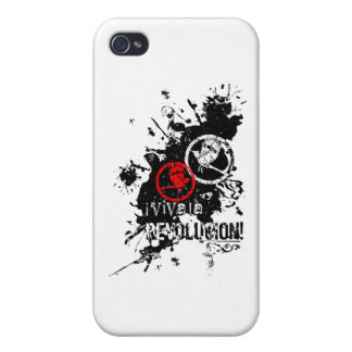 Viva La Revolucion (Splattered) iPhone 4/4S Cover