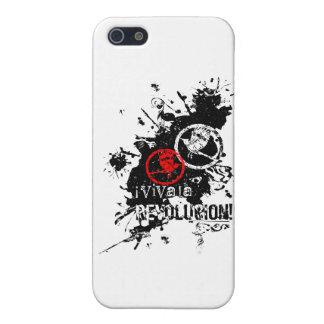 Viva La Revolucion (Splattered) iPhone 5 Cases