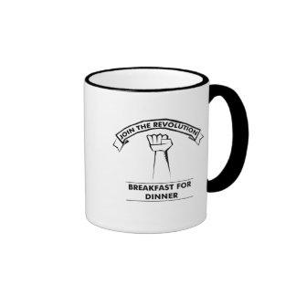 Viva la revolution! ringer mug