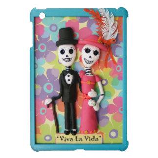 Viva La Vida Day of the Dead Skeleton Couple iPad Mini Cases