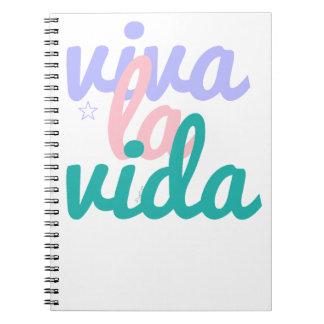 Viva la vida note book