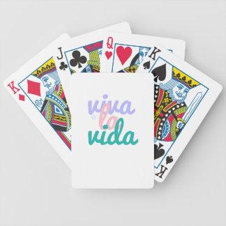 Viva la vida bicycle playing cards