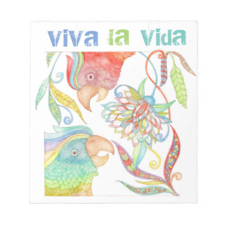 viva la vida stylish notepad