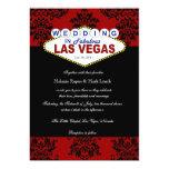 Viva Las Vegas Damask Wedding Invitation
